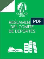 Reglamento Del Comité de Deportes