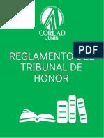 Reglamento Del Tribunal de Honor