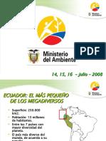 ÁREAS NATURALES DEL ECUADOR