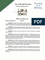 Executive Order Suspending Corey Jackson