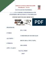 Conformado Instrumentos de Medicion