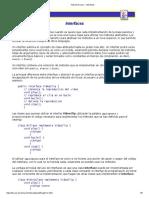 Tutorial de Java - Interfaces
