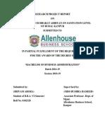 Research Project Report Shivam Arora