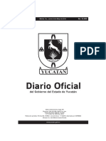 Diario Oficial del Gobierno de Yucatán (2019-05-30)