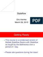 Matlab Training - Stateflow