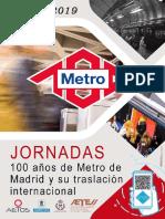 Jornadas 100 años de Metro
