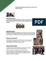 8 Bailes Folkloricos de Guatemala
