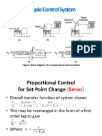 6. Transient Response of Simple Control System
