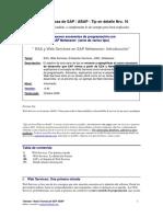 WebServices Entorno Abap_Caso Practico