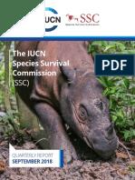 iucn ssc quarterly report sep2018 web