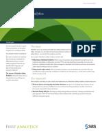 Partner First Analytics Solution Brief
