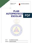 PLAN DE AUTOPROTECCIÓN ESCOLAR