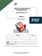 Lab 07 - HTML