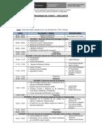 Taller - Gobiernos Locales - VMT - Programa Evento Chiclayo