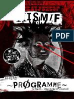 Programme KISMIF 2016 14 July 2016 Web