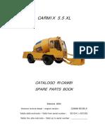 Parts Book 5.5XL-2004