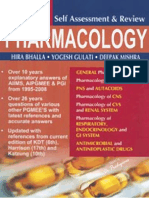 Self Assessment & Review- Pharmacology, 4th Edition
