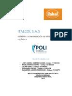 PROYECTO GRUPAL ENTREGA 1 - Sistemas de Informacion en Gestion Logistica
