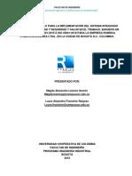 Sistema Integrado Robrica PAPELERIA