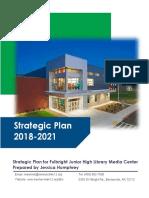 FJHS Library Wolf Den Strategic Plan 2018-2021