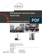 087 Business Case for Urban Small Cells
