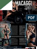 Sofia Macaggi en Revista Gente