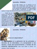 Agromatica-definicion
