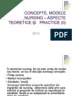 Teorii, Concepte, Modele În Nursing