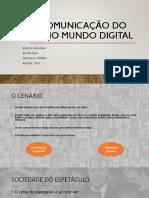 A Comunicação Do Eu No Mundo Digital
