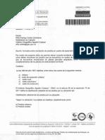 Cartas Solicitud Catastro y Respuesta IGAC