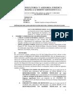 Escrito - Medida Cautelar- Obligacion de Dar Suma de Dinero- Sra Yane Espinoza