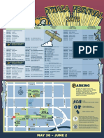 Ithaca Festival 2019 Schedule Map