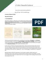 Engelhardt - A Review of Edward Tuftes Beautiful Evidence