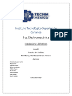 Reporte Practica 3 Instalaciones Electricas