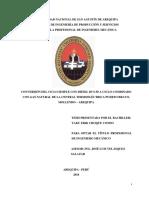 CONVERSIÓN DEL CICLO SIMPLE CON DIÉSEL B5 S-50 a CICLO COMBINADO Con Gas Natural de La Central Termoelectrica Puerto Bravo, Moliendo Arequipa