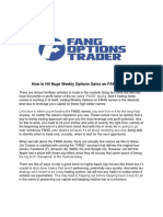 FAANG Options Trader Report 2018