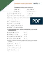 Matematicas IV-ejercicios Bloque 4