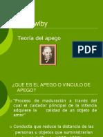 Johnbowlby teoria del apego tIPOS DE APEGO 2019+++