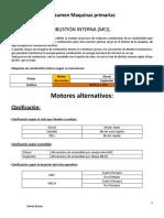 Resumen Maquinas Primarias MCI