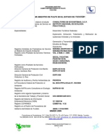 Programa Maestro Estatal Pulpo Yucatan