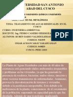 Seminario Tratamiento de Aguas Servidas en El Cusco