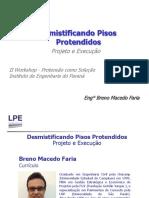 Pisos Industriais Protendidos Projeto e Execução