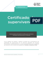 Instructivo Para Pedido de Pension