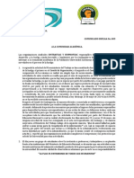 Comunicado de Huelga Universidad Autónoma de Colombia