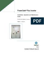 Satcon PVS-50-S Manual PM00474R0man S Sept 09)