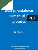 Guia Para Elaborar Un Manual de Procesos