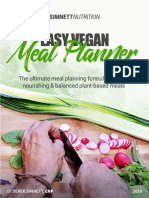 Easy Vegan Meal Planner