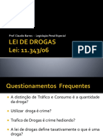 Lei de Drogas