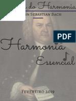 Revista do Harmonia - Johann Sebastian Bach fev 19