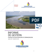 Informe de Gestion Del Centro de Investigacion de Cormagdalena